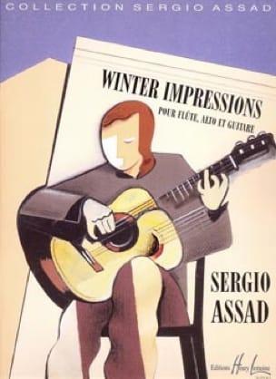 Winter impressions - Sergio Assad - Partition - laflutedepan.com