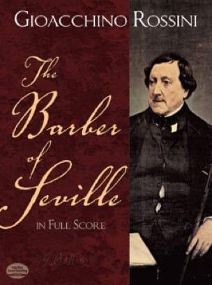 Gioacchino Rossini - The Barber of Seville - Full Score - Partition - di-arezzo.co.uk
