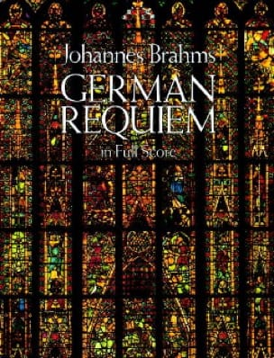 BRAHMS - German Requiem - Full Score - Partition - di-arezzo.co.uk