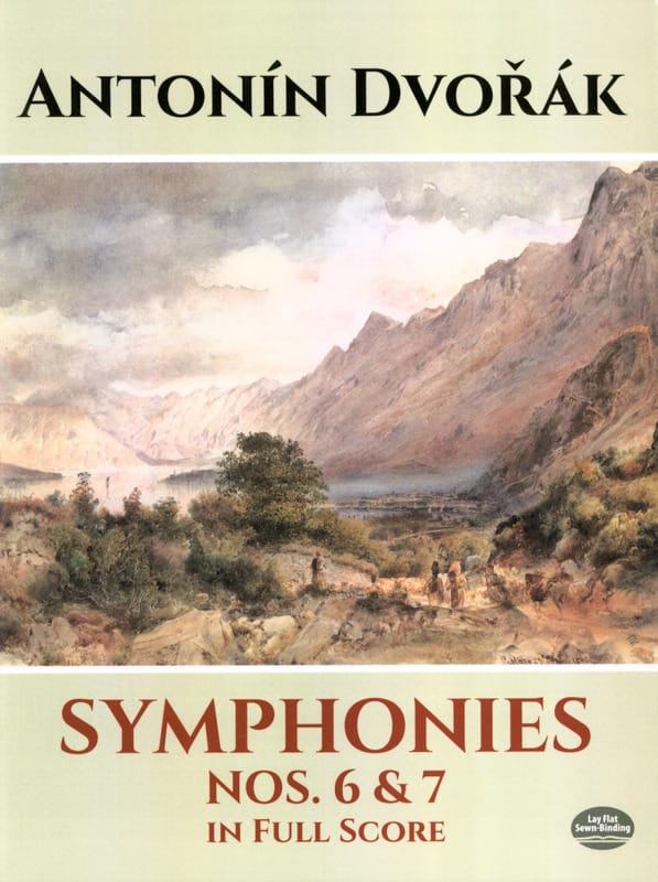 DVORAK - Symphonies N ° 6 and 7 - Full Score - Partition - di-arezzo.co.uk