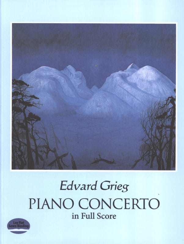 Edvard Grieg - Piano Concerto Op. 16 - Partition - di-arezzo.co.uk