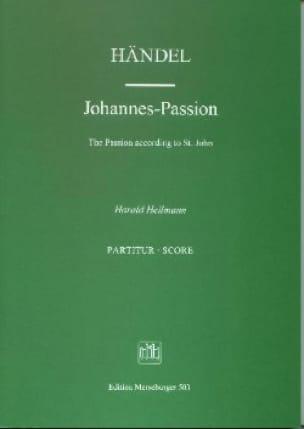 Johannes-Passion - Partitur - HAENDEL - Partition - laflutedepan.com