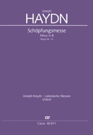Schöpfungsmesse - Partitur - HAYDN - Partition - laflutedepan.com