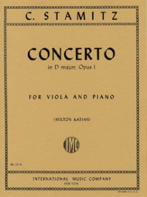 Carl Stamitz - Concierto en re mayor op. 1 - Partition - di-arezzo.es