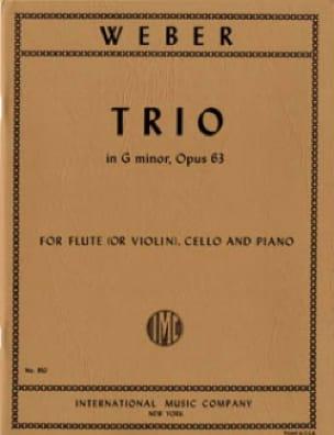 Trio en Sol Mineur Opus 63 - Carl Maria von Weber - laflutedepan.com