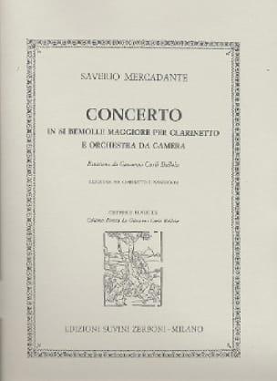 Concerto En Si Bémol Majeur Op. 101 Pour Clarinette - laflutedepan.com