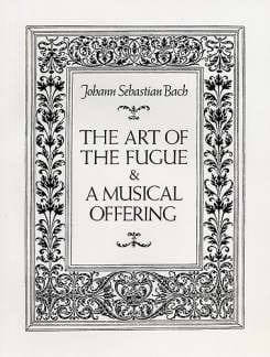 BACH - The Art of the Fugue and A Musical Offering - Full Score - Partition - di-arezzo.co.uk