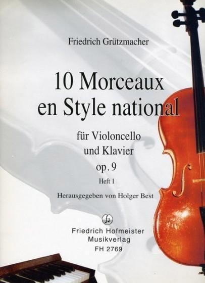 10 Morceaux en Style National op. 9, Volume 1 - laflutedepan.com