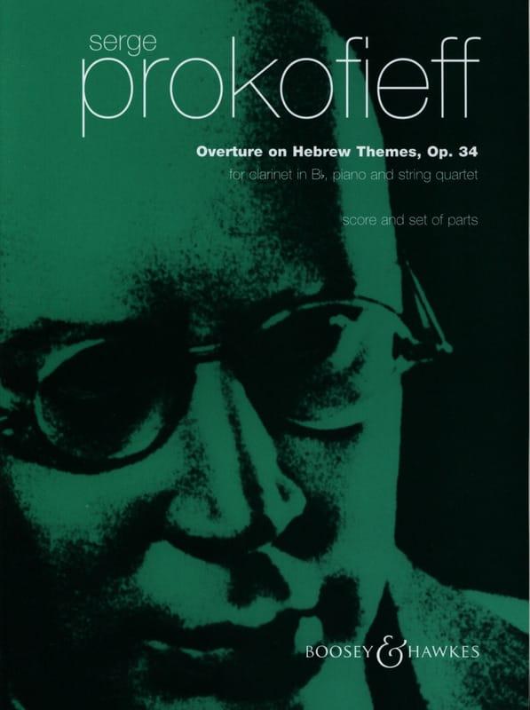 Serge Prokofiev - Opening on Jewish themes op. 34 - Partition - di-arezzo.com