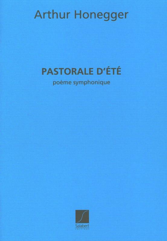Arthur Honegger - Summer pastoral - Partition - di-arezzo.co.uk