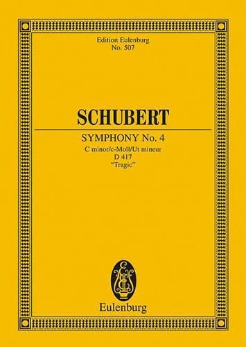 Symphonie Nr. 4 C-Moll D 417 - SCHUBERT - Partition - laflutedepan.com