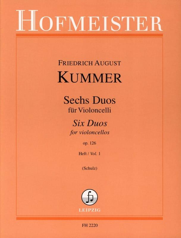 6 Duos op. 126 Heft 1 - Friedrich-August Kummer - laflutedepan.com