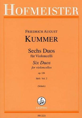 6 Duos op. 126 Heft 2 - August Friedrich Kummer - laflutedepan.com