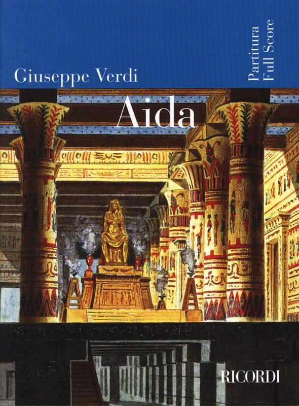 VERDI - Aida - Partitura - Partition - di-arezzo.co.uk