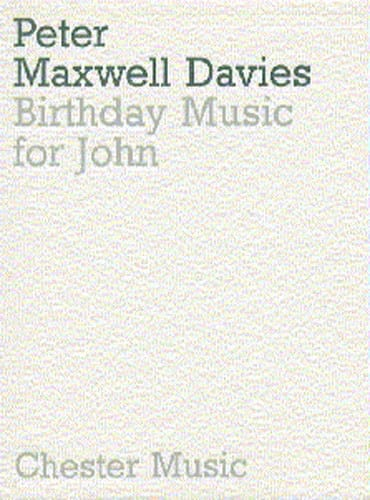 Birthday music for John - Score - laflutedepan.com
