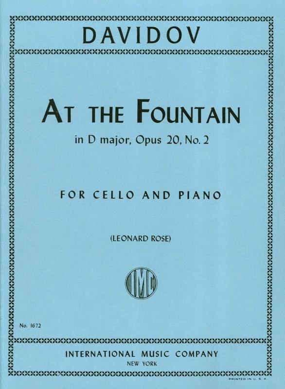 At The Fountain in D Major op. 20 n° 2 - laflutedepan.com