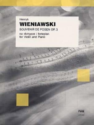 Souvenir de Posen op. 3 - WIENAWSKI - Partition - laflutedepan.com