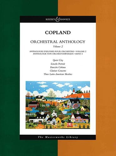 Aaron Copland - Orchestral Anthology Volume 2 - Conductor - Partition - di-arezzo.co.uk