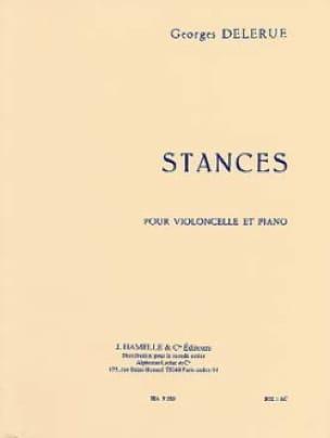 Stances - Georges Delerue - Partition - Violoncelle - laflutedepan.com
