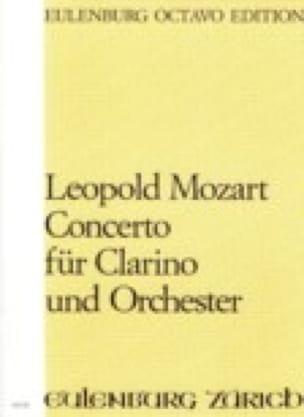 Leopold Mozart - Konzert Für Clarino In D Dur- Partitur - Partition - di-arezzo.fr