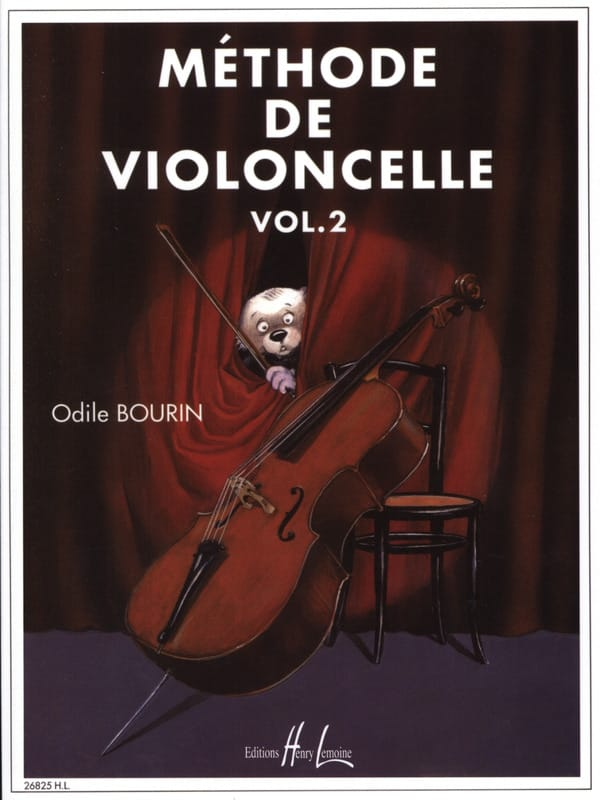 Odile Bourin - Cello Method Volume 2 - Partition - di-arezzo.com