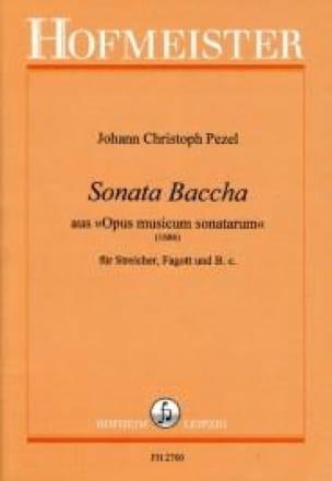 Sonata Baccha aus Opus musicum sonatarum 1686 - laflutedepan.com
