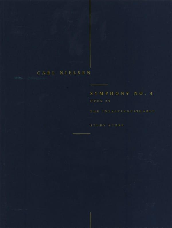 Symphonie n° 4, op. 29 - Score - NIELSEN - laflutedepan.com