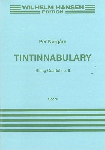 Tintinnabulary String quartet n° 6 - Score - laflutedepan.com