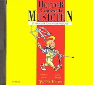 Sylvie DEBEDA, Florence MARTIN et Caroline HESLOUIS - CD - Hector L'apprenti Musicien - Volume 2 - Partition - di-arezzo.fr