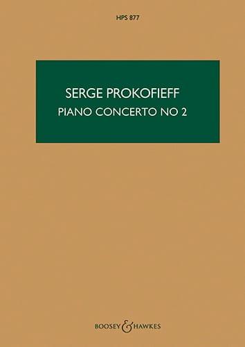 Serge Prokofiev - Concierto Piano n ° 2 op. 16 - Puntuación - Partition - di-arezzo.es