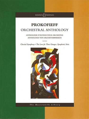 Serge Prokofiev - Orchestral Anthology - Score - Partition - di-arezzo.co.uk