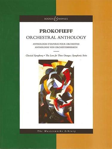 Serge Prokofiev - Antología Orquestal - Partitura - Partition - di-arezzo.es