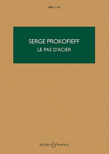 Serge Prokofiev - Paso de acero - Puntuación - Partition - di-arezzo.es