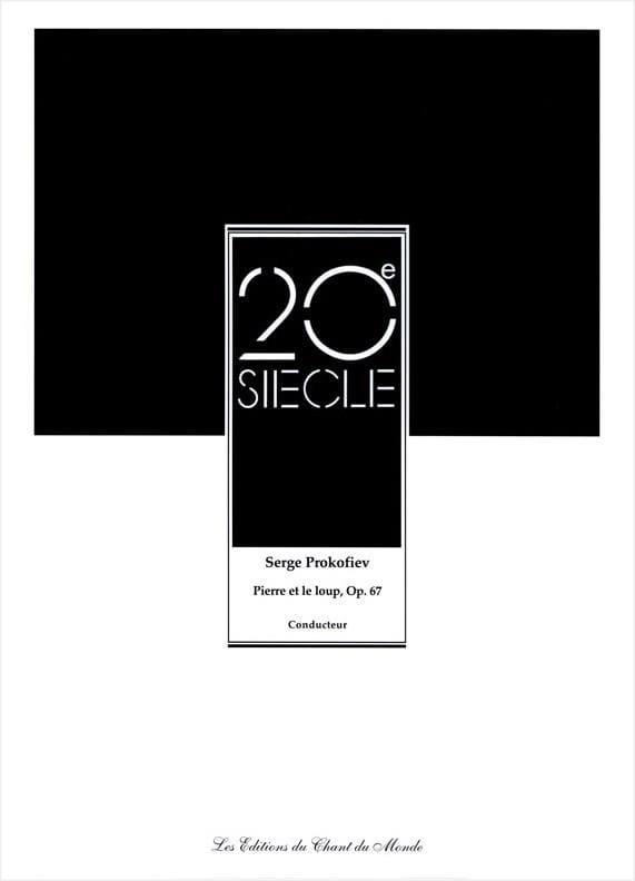 Serge Prokofiev - Pedro y el lobo Opus 67 - Partition - di-arezzo.es