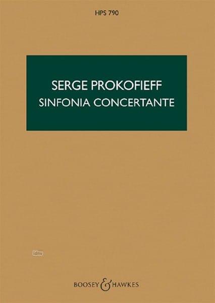 Serge Prokofiev - Concierto sinfonía op. 125 - Puntuación - Partition - di-arezzo.es