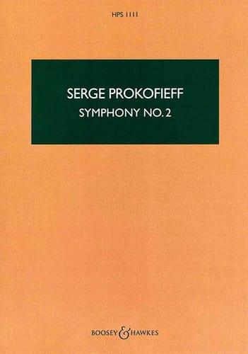 Serge Prokofiev - Sinfonía No. 2 - Puntuación - Partition - di-arezzo.es