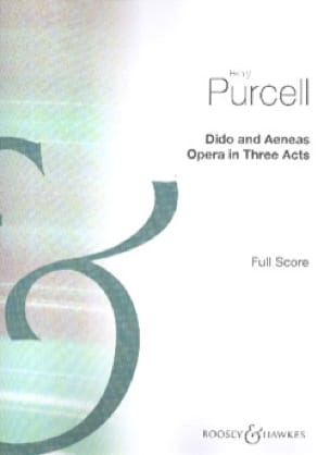 Henry Purcell - Dido And Aeneas - Score - Partition - di-arezzo.co.uk