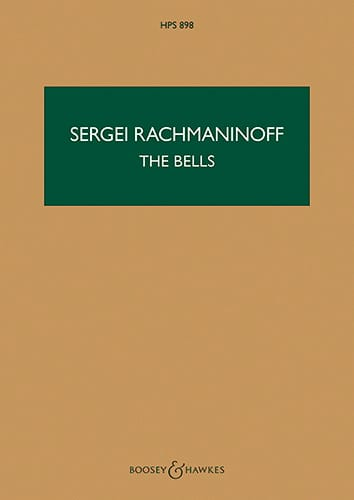 RACHMANINOV - The Bells, Opus 35 - Driver - Partition - di-arezzo.com