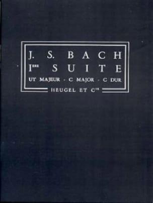 Suite n° 1 C-Dur - Conducteur - BACH - Partition - laflutedepan.com