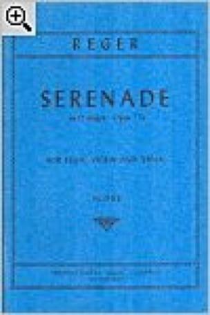 Serenade in D major op. 77a - Score - Max Reger - laflutedepan.com
