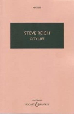 City life - Score - Steve Reich - Partition - laflutedepan.com