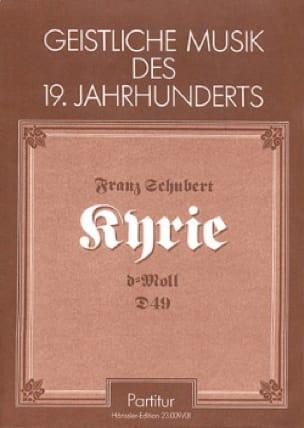 Kyrie in d-moll D. 49 - Partitur - SCHUBERT - laflutedepan.com