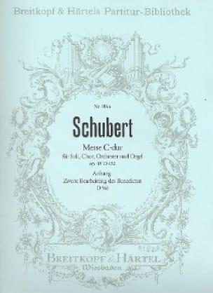 Messe C-Dur D 452 - op. 48 - Partitur - SCHUBERT - laflutedepan.com