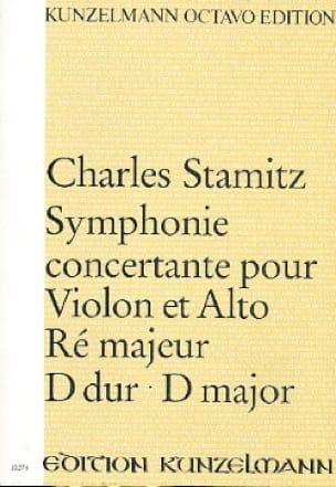 Symphonie concertante ré maj. - Partitur - STAMITZ - laflutedepan.com