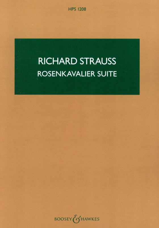 Richard Strauss - Rosenkavalier Suite - Score - Partition - di-arezzo.co.uk