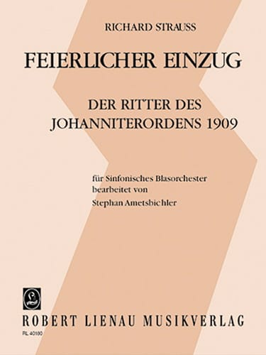 Feierlicher Einzug - Partitur - Richard Strauss - laflutedepan.com