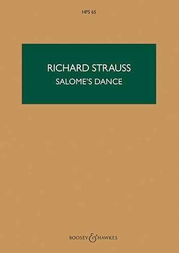 Richard Strauss - Salome's Dance - Score - Partition - di-arezzo.co.uk