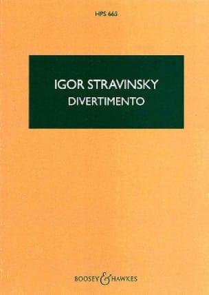 Divertimento - Score - STRAVINSKY - Partition - laflutedepan.com