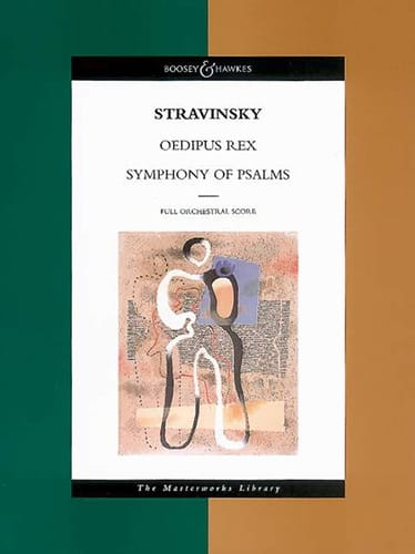 Igor Stravinsky - Oedipus Rex - Symphony Of Psalms - score - Partition - di-arezzo.co.uk