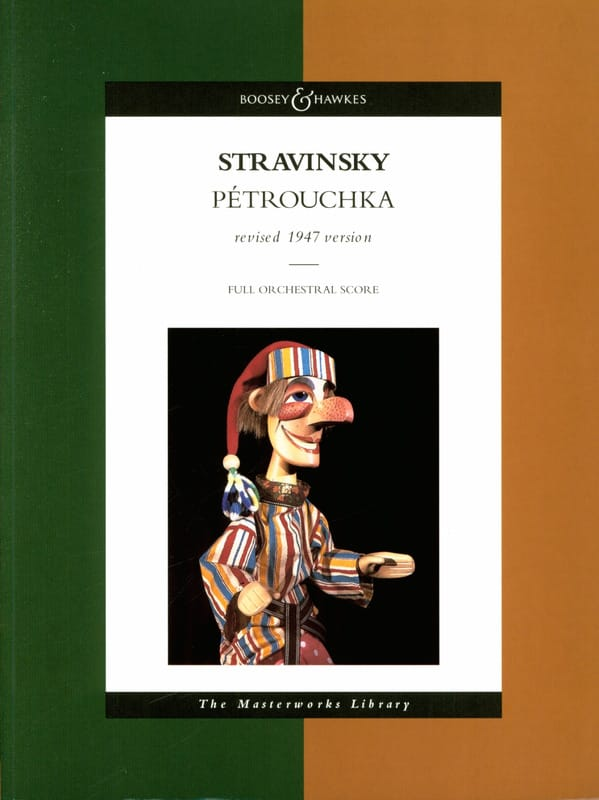 Igor Stravinsky - Petrushka - Partition - di-arezzo.co.uk